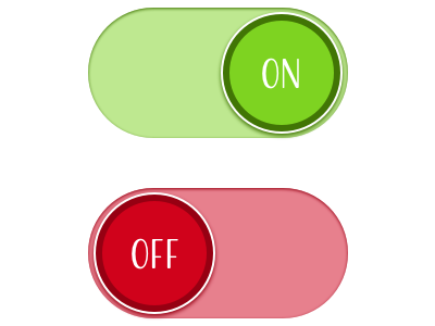 how to add an on off switch