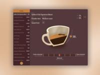 Coffee recipe log app