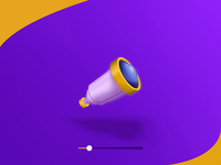 Telescope icon animation 🔭