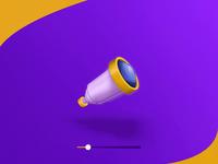 Telescope icon animation 🔭