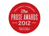 Prose Award 2012