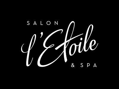 l'Etoile logo (before & after)