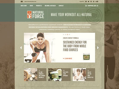 NaturalForce website
