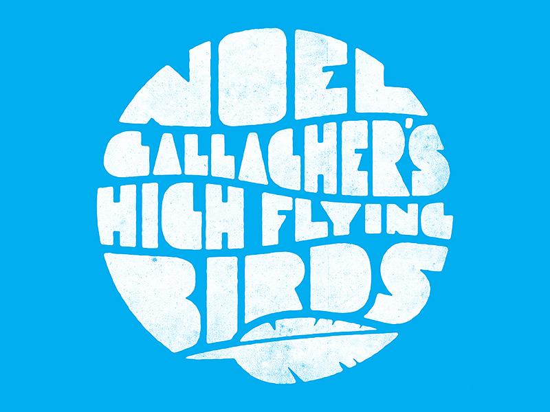 noel gallaghers high flying birds by projekt inc dribbble