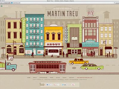 Martin Treu Website - Launched