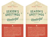 Season's Greetings #2