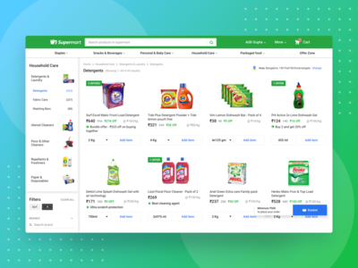Supermart Browse Desktop
