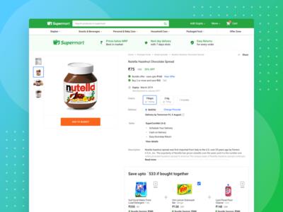Supermart Product Page Desktop
