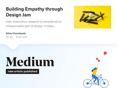 Building Empathy through Design Jam (Medium Post)
