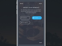 Import & Share Your Moments