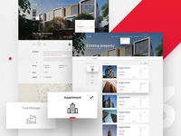 RealEstate - List of properties