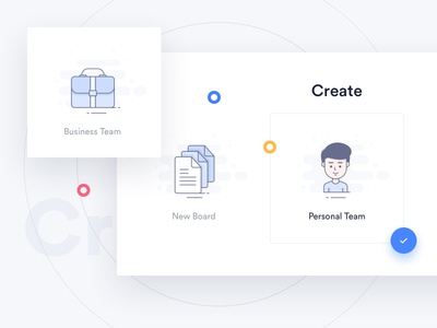 Trello Atlassian - Create cards business popup user suitcase icons login trello atlassian redesign slider