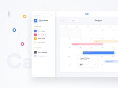 Trello Atlassian - Calendar