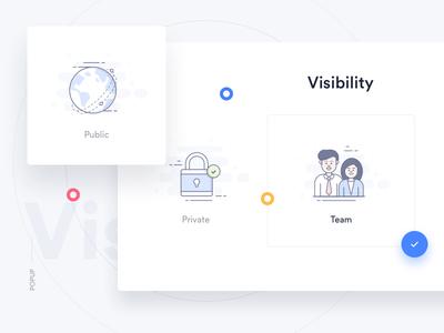 Trello Atlassian - Visibility globe redesign atlassian trello login icons lock user popup business world