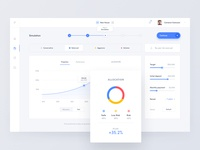 Robo Advisor - Simulation - Web App