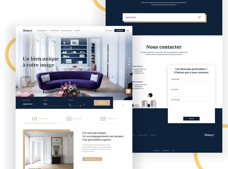 Homey Unique Estate graphic  design illustraion ui ux icon design branding typography app web website flat real estate property architecture personalisation
