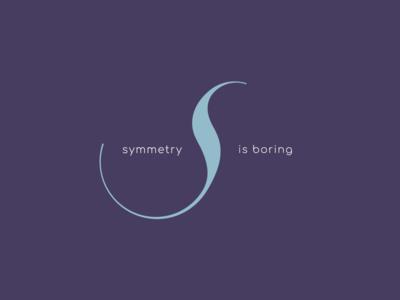 Symmetry is Boring Logo Design