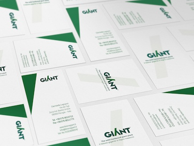 Brand Giant Close Up Card corporate brand