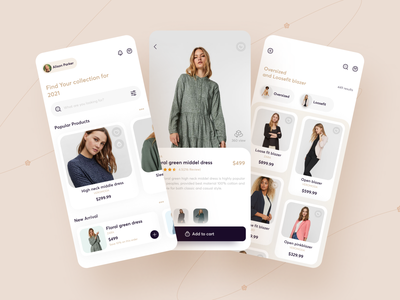 Ecommerce App ux app design e-commerce app e-comerce mobile app mobile ui shop design ios minimal ui app clothes store fashion clean ecommerce dailyui