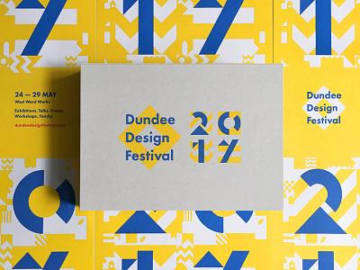 Dundee Design Festival 2017 print typography design graphics