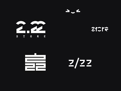 2.22 STORE techwear store logo wear street streetwear