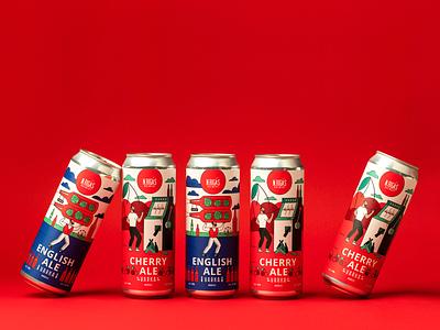 Varka. Craft Beer Design design beer unblvbl illustration brandingdesign packagingdesign packaging branding