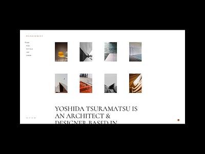 Wonderment - Designer home portfolio theme architecture architect typography webdesign visual design select themes portfolio ui animation design ux qode interactive