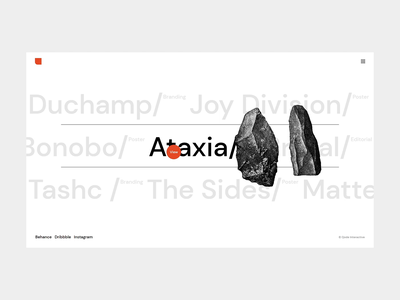 Zermatt - Interactive showcase illustration topography brutalism typography branding webdesign visual design portfolio animation ui design ux qode interactive