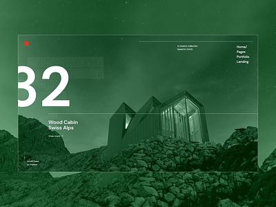 Zermatt- Architecture studio slider slider architecture studio architecture typography webdesign visual design portfolio animation ui ux design qode interactive