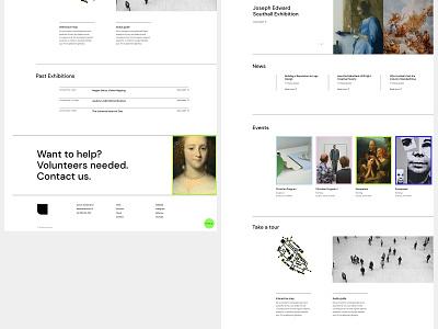 Zermatt - Art Gallery gallery art gallery museum visual design portfolio design ux qode interactive