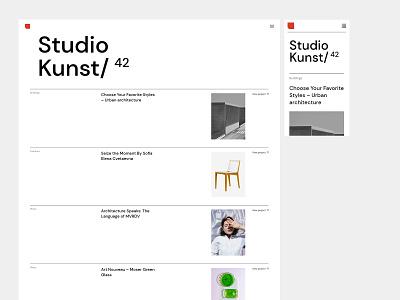 Zermatt - Studio Minimal studio brutalism branding visual design portfolio ui design ux qode interactive