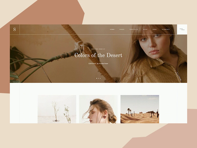Sahel  -  Nubian layout desert ux elated themes blog design qode interactive sahel