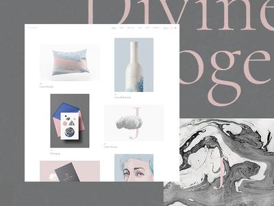 Imogen - Cascading portfolio