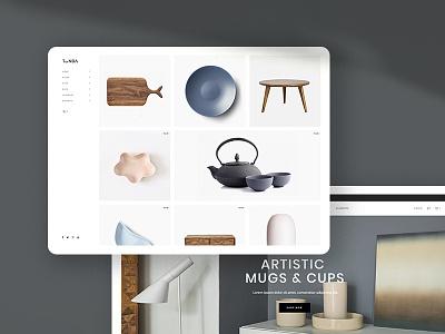 Tonda - Elegant WooCommerce Theme webdesing retail product ceramic cart pottery store shop woocomerce furniture furniture shop ecommerce select themes tonda ui ux qode interactive
