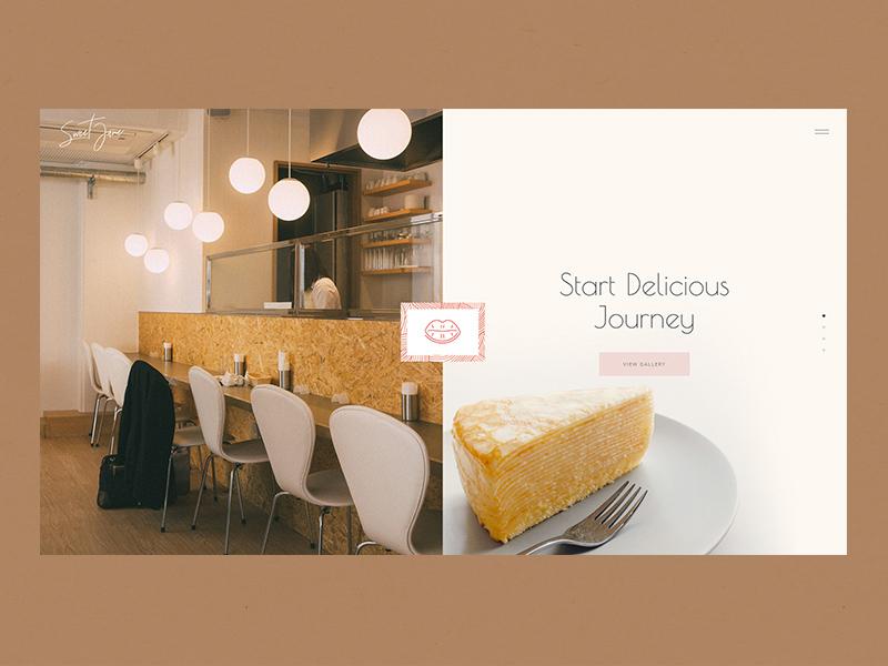 Sweet Jane - Split Showcase webdesign dessert chocolate pastry cookies bakery shop bakery cake shop cake sweets sweet jane elated themes ux ui qode interactive