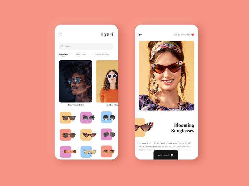 Sun Glasses Store App