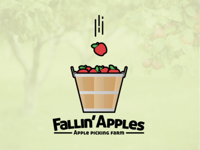 Fallin' Apples Logo