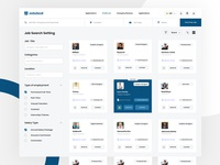Minimal job post & Hiring Dashboard - Jobdeal