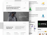 Digital Agency Branding and UI