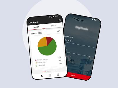 Logistics Mobile App report page mobile app logistics app in india logistics mobile app logistics mobile app