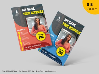 Corporate Flyer Template solution