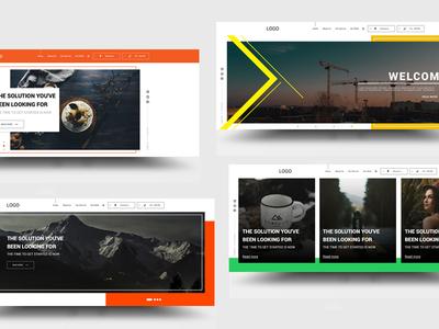 Web Sliders -  web banners