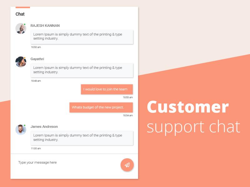 live chat widget live chat widget concept live chat widget