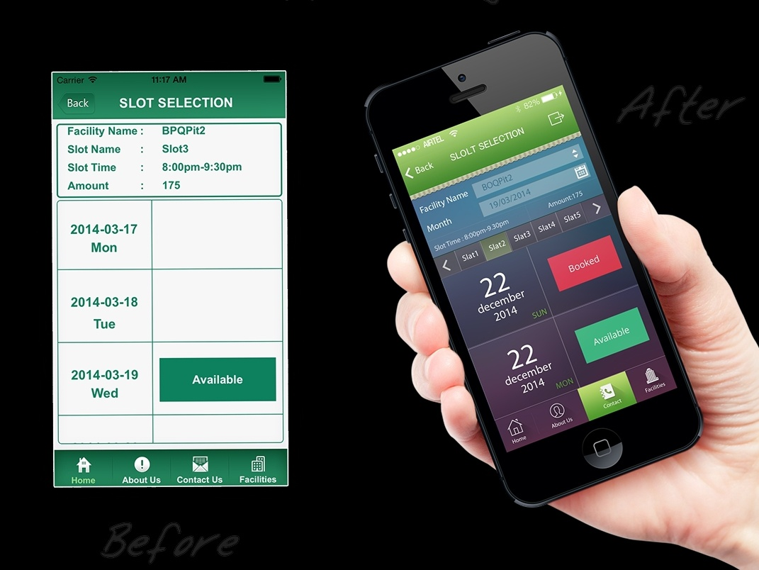 Mobile app redesign kaliraj building app appartment app booking mobile application booking mobile app booking app