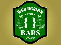 Web Design For Bars v.1