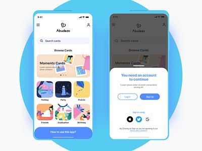 Invite App illustrations designer design ui ux learn tips userflow sharing invite app