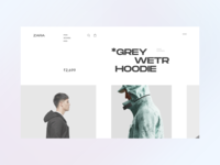 ZARA Mens redesign shopify online stores ecommerce gucci apparel clothing brand zara app web design typography website design ux ui