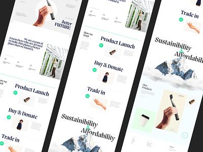 Secure Homepage uk donate research homepage branding typography website design ux ui