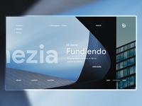 Construction Website Concept.