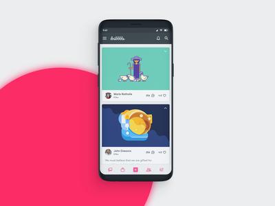 Dribbble App Design Refresh!!